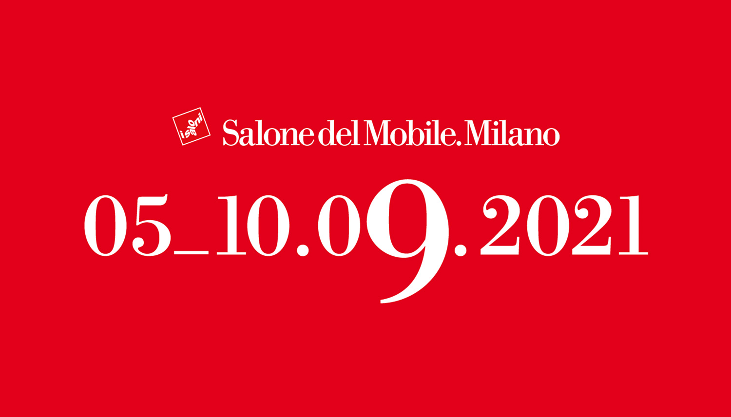 Salone del Mobile Milano 2021 will be held in September